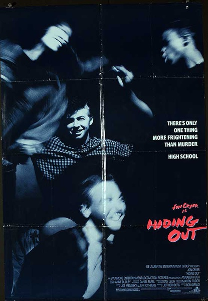 Hiding Out Original American One Sheet Movie Poster