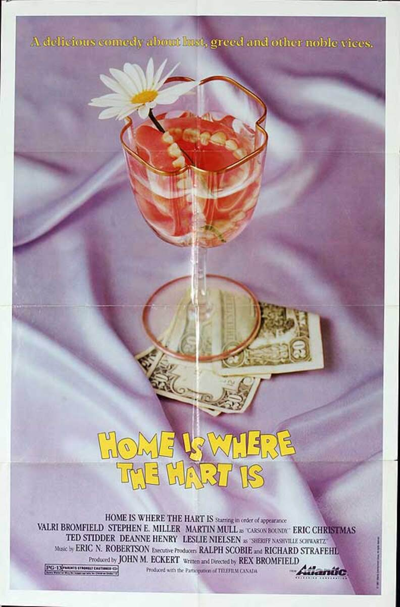 Home is Where the Hart is Original American One Sheet Movie Poster