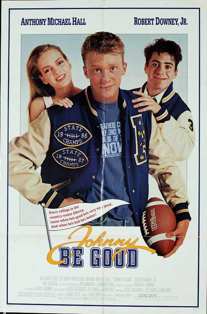 Johnny be Good Original American One Sheet Movie Poster