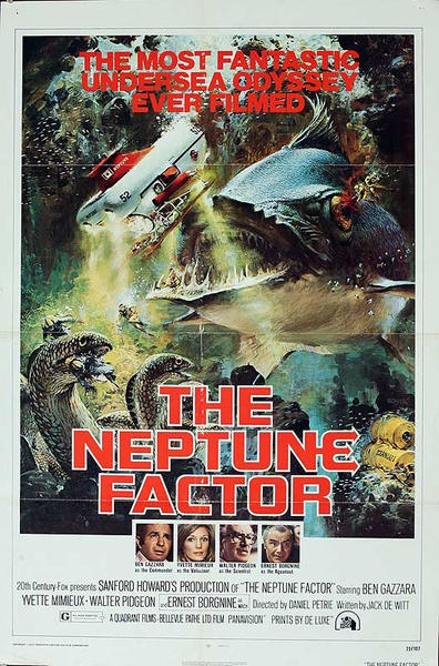 The Neptune Factor Original American One Sheet Movie Poster