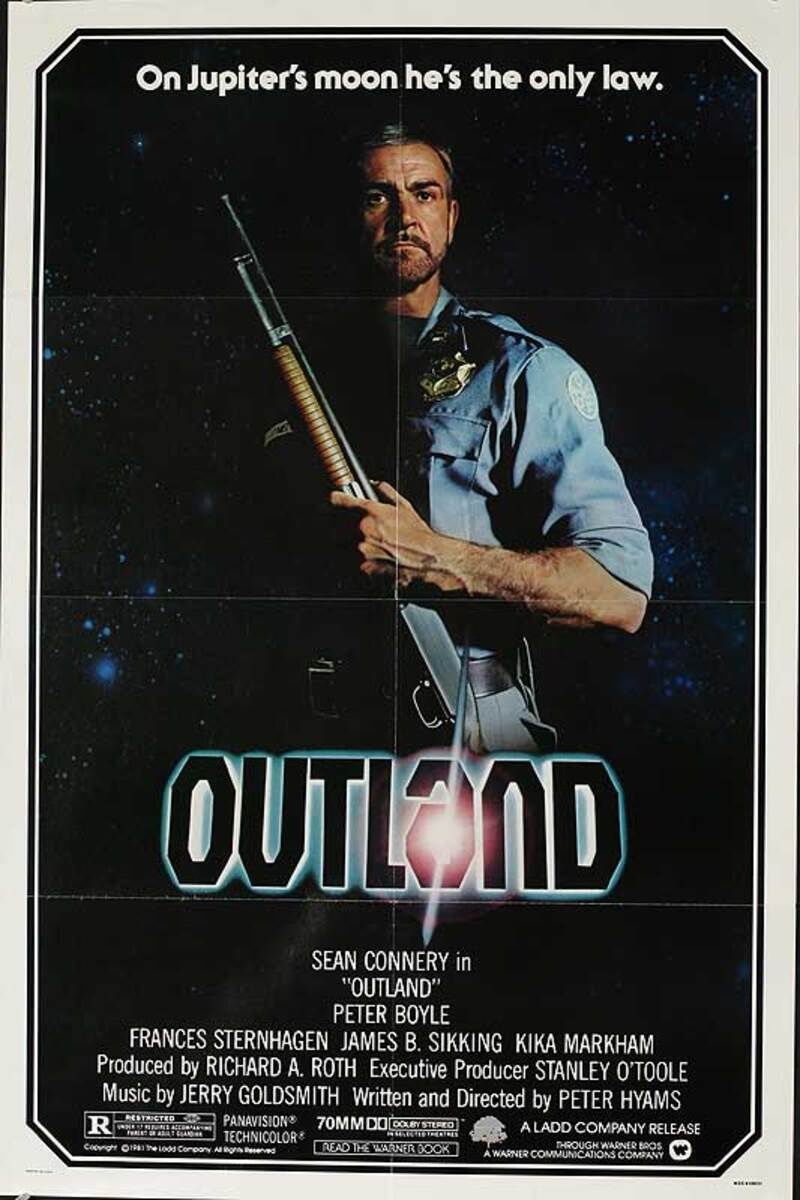 Outland Original American One Sheet Movie Poster