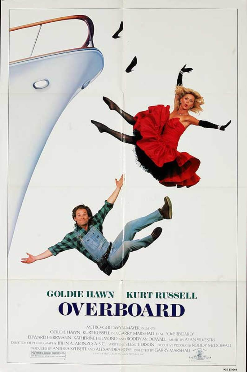 Overboard Original American One Sheet Movie Poster