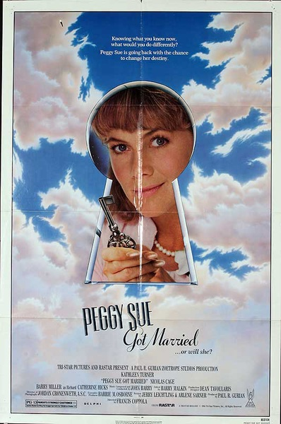 Peggy Sue got Married Original American One Sheet Movie Poster