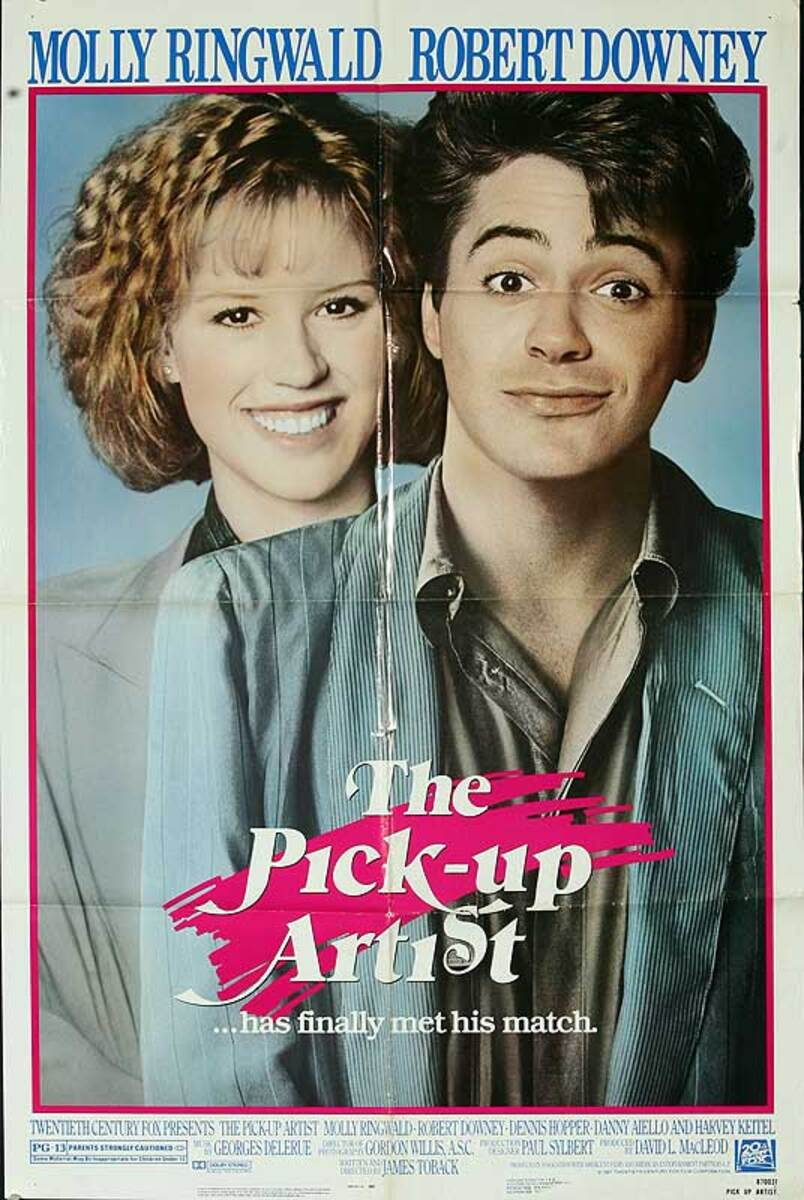 The Pick-Up Artist Original American One Sheet Movie Poster