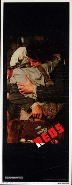 Reds Original American Insert Movie Poster