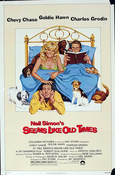 Seems Like Old Times Original American One Sheet Movie Poster