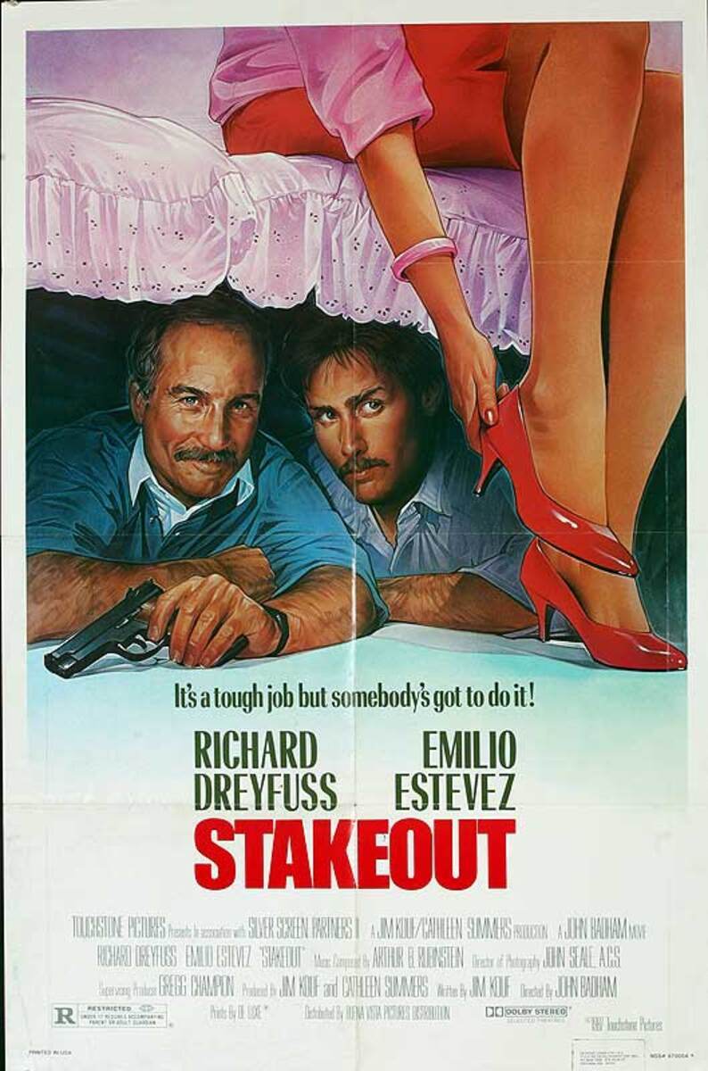 Stakeout Original American One Sheet Movie Poster