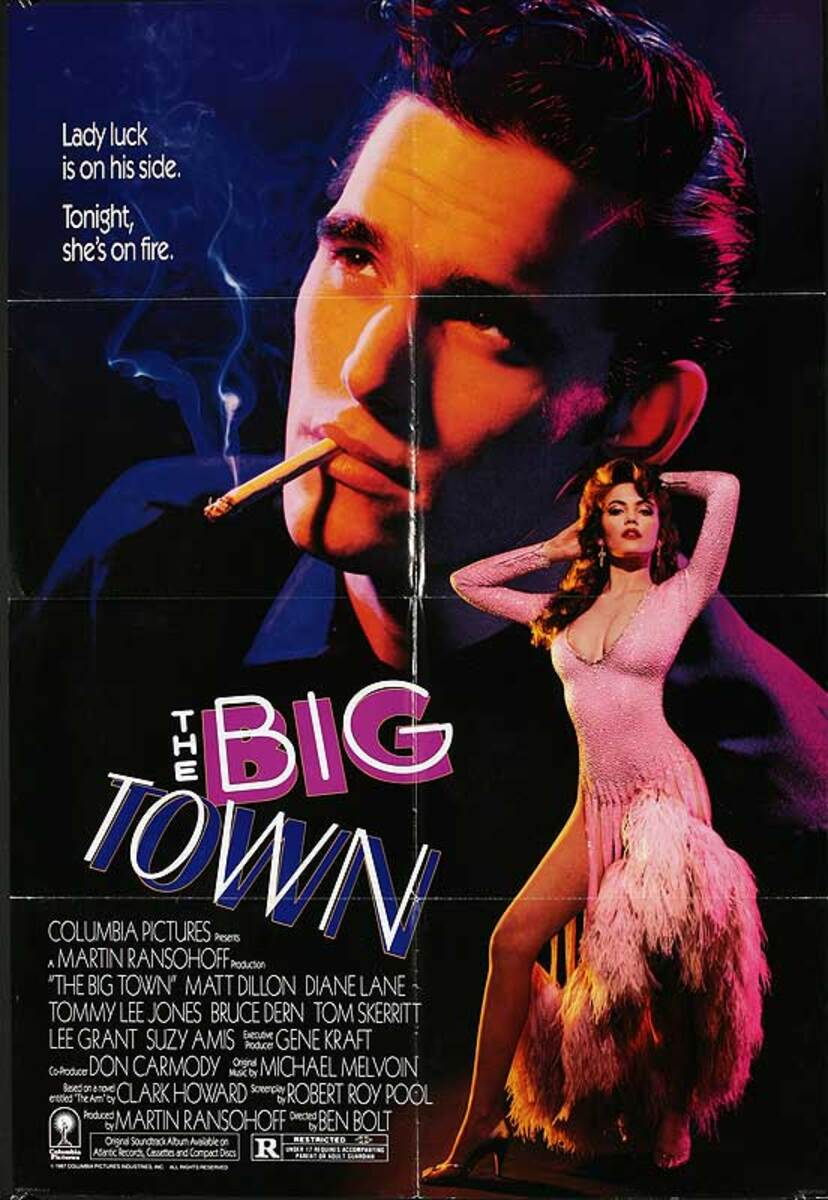 The Big Town Original American One Sheet Movie Poster