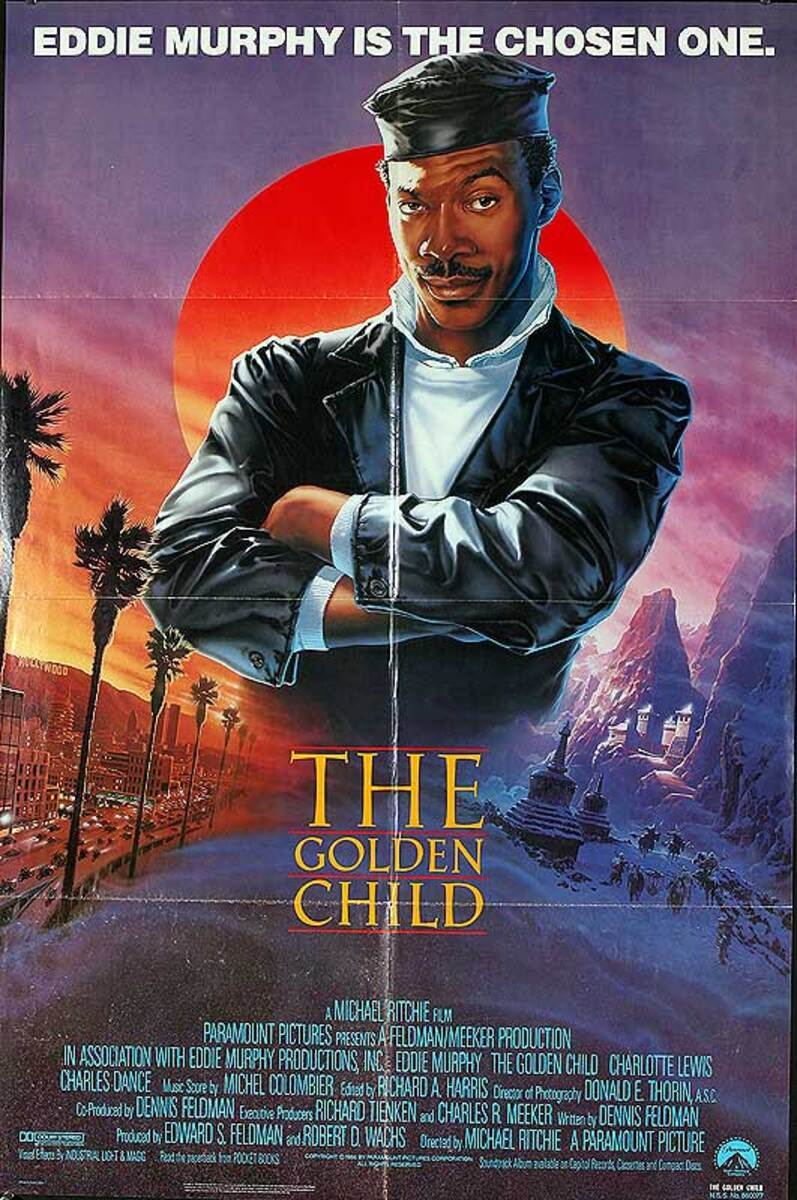 The Golden Child Original American One Sheet Movie Poster