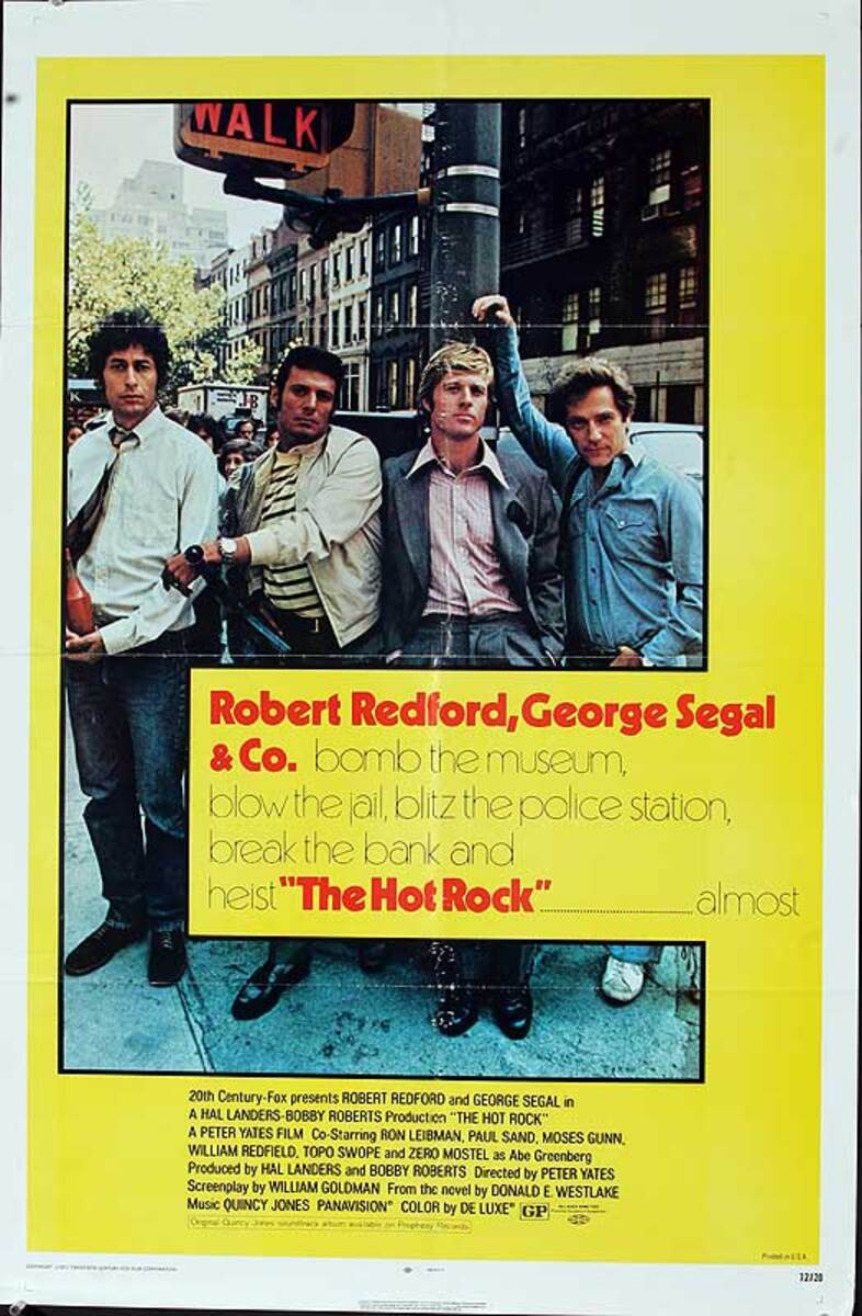 The Hot Rock Original American One Sheet Movie Poster