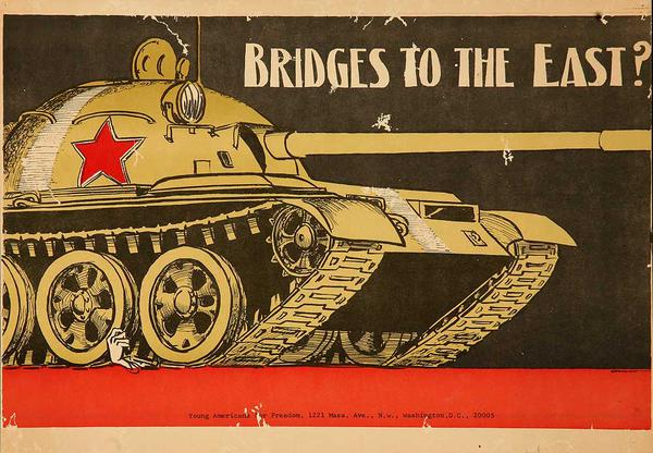 Bridges to the East Original American Anti-Vietnam War Poster