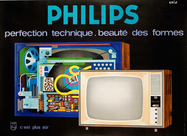 Philips Perfection Original French Television Advertising Poster