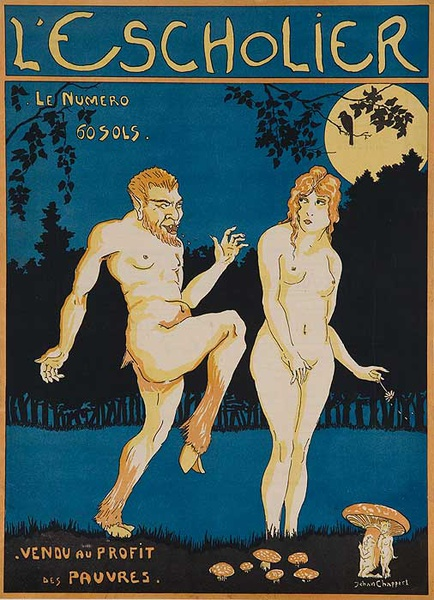 Le Scholier Original French Magazine Cover
