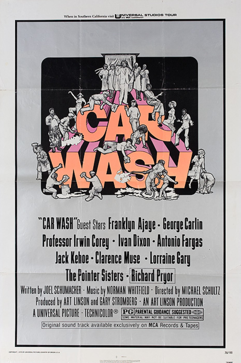 Car Wash Original American 1 Sheet Movie Poster