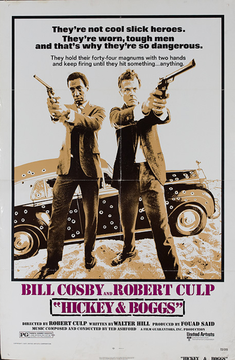 Hickey and Boggs Original American i Sheet Movie Poster