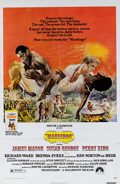 Mandingo Original American 1 Sheet Movie Poster