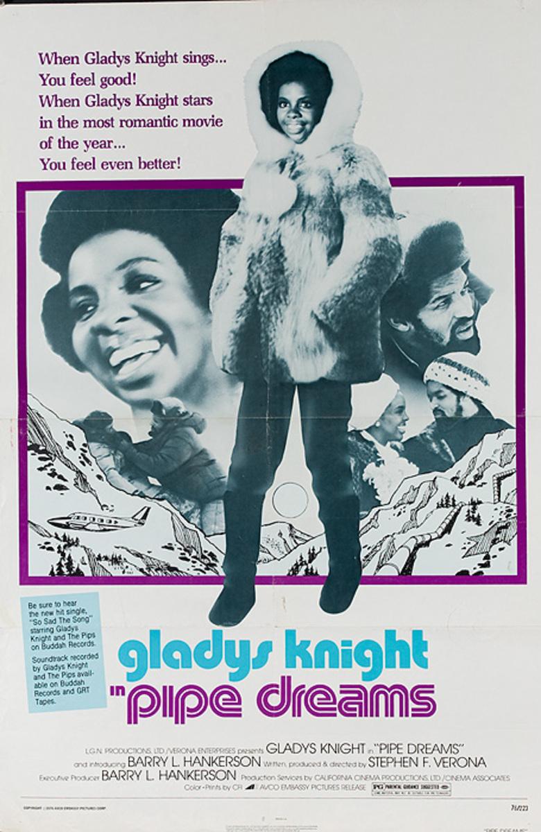 Pipe Dreams Original American 1 Sheet Movie Poster
