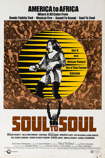 Soul to Soul Original American Movie Poster
