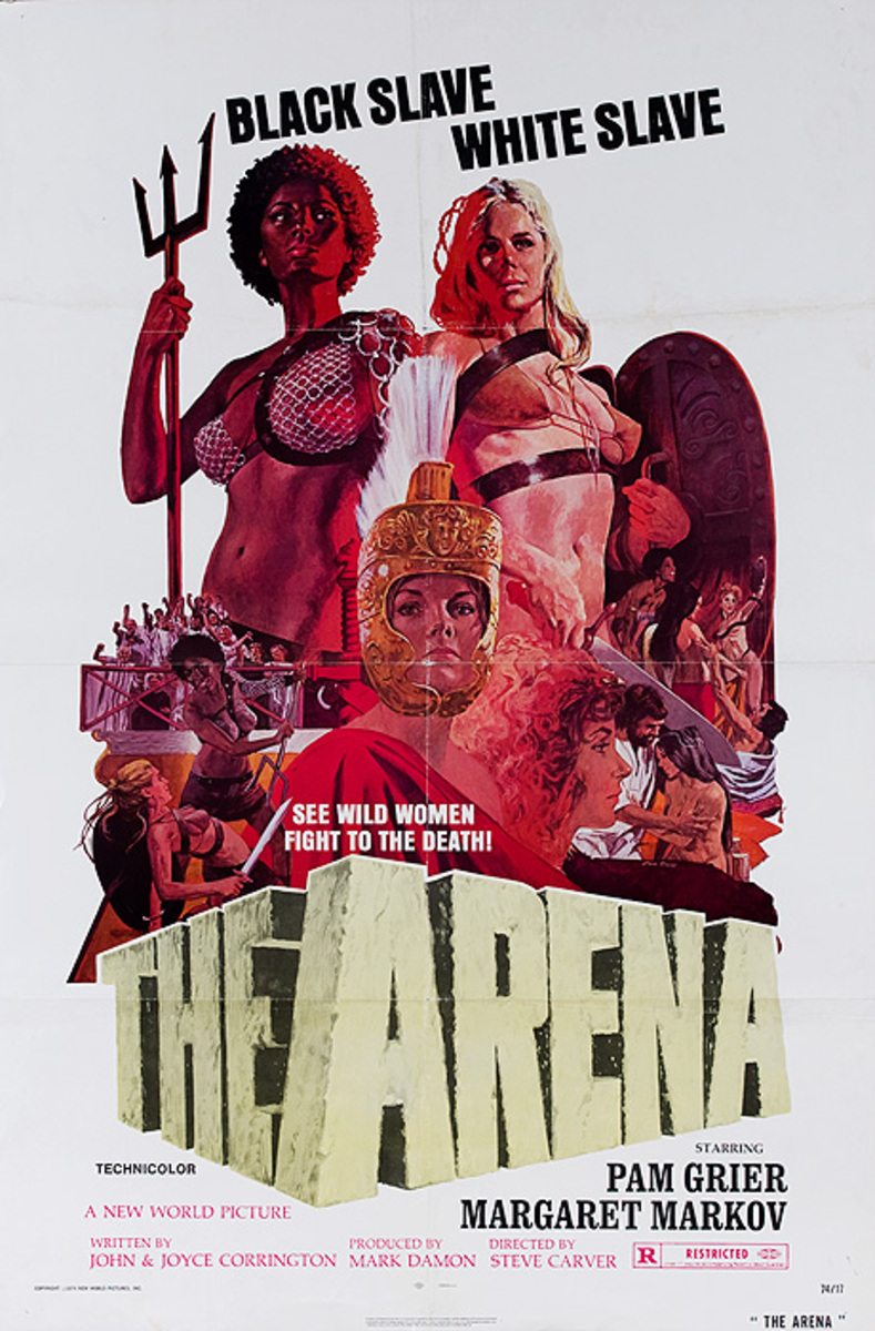 The Arena Naked Warriors Original American Movie Poster