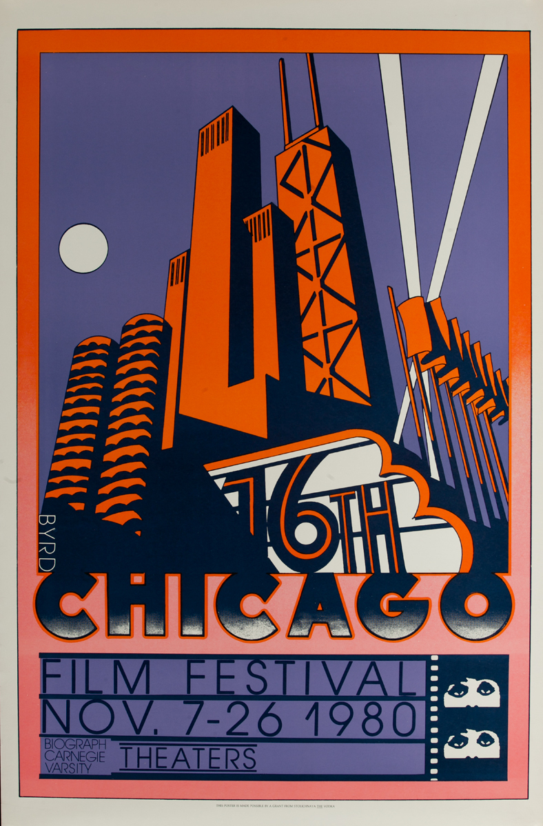 16th Chicago Film Festival Original American Movie Poster