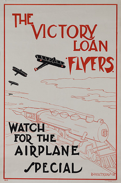 The Victory Loan Flyers Original WWI