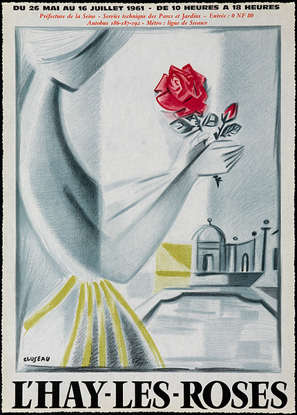 l'Hay Les Roses Original French Flower Show Poster