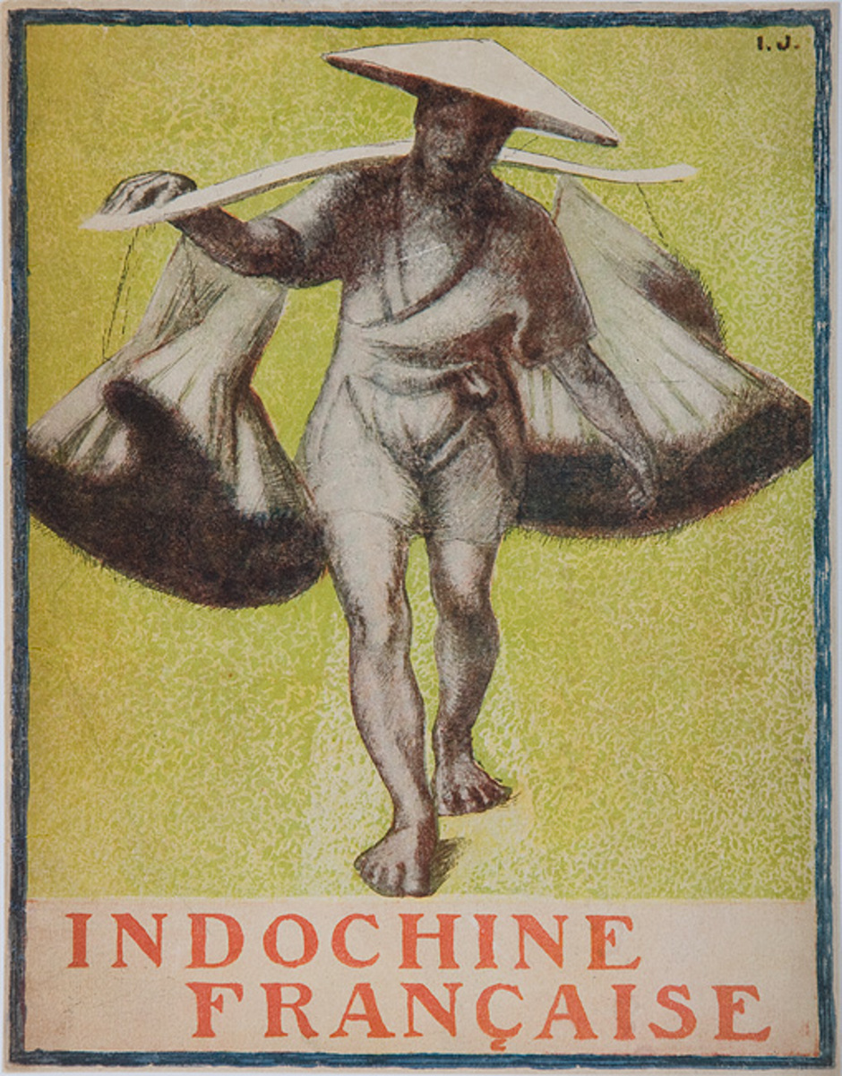 Indochine Francaise French Indochine Original Travel Poster