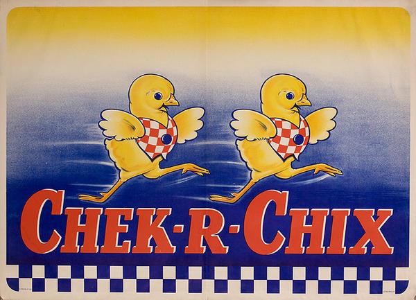 Check-R-Chix Original American Feed Poster