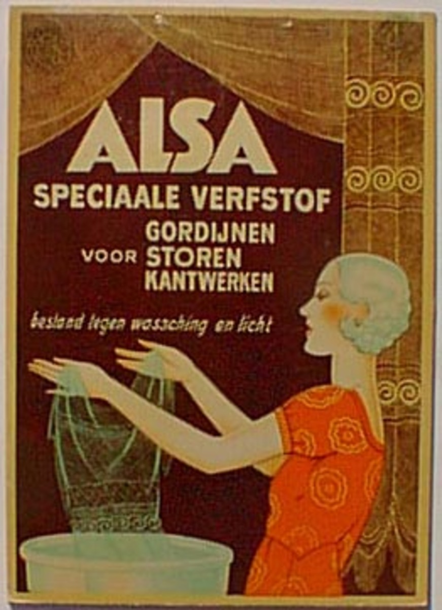 Alsa Carton Original Original Vintage Advertising Poster