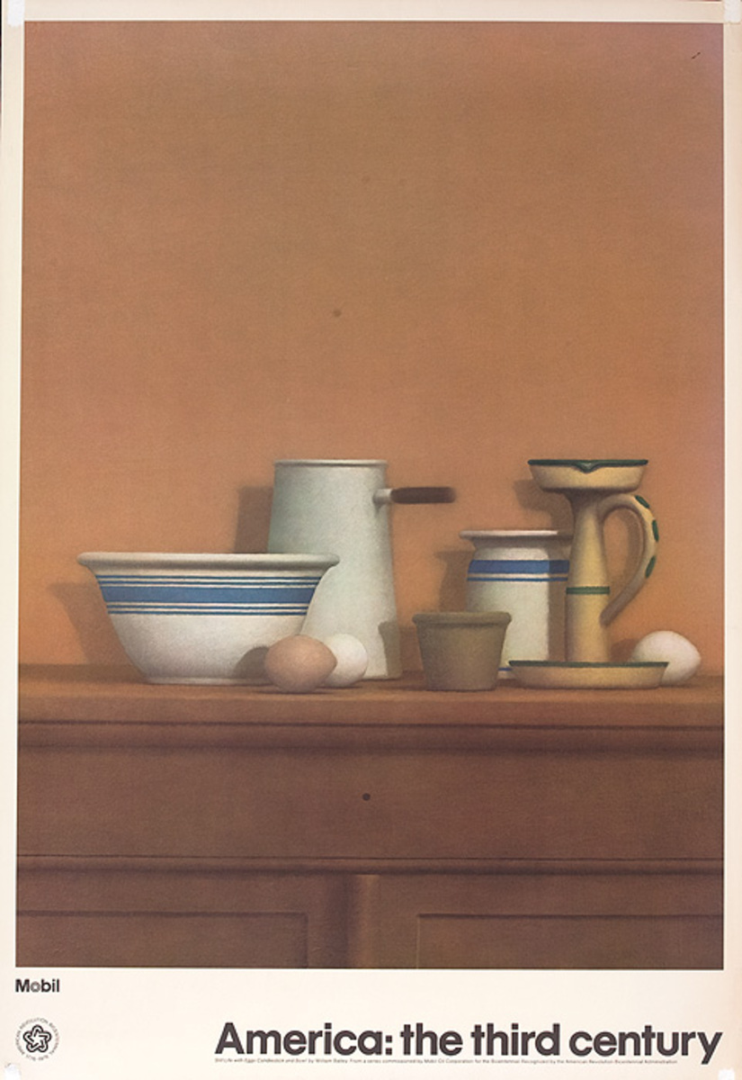 America: The Third Century Original Still Life With Eggs