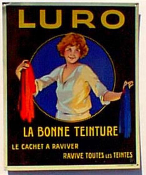Luro Original Tin Sign