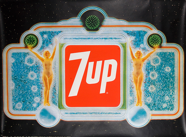 7 Up Poster faux Deco Babes Poster
