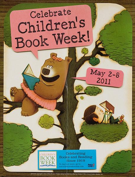 Celebrate Children's Book Week Original 2011 Poster