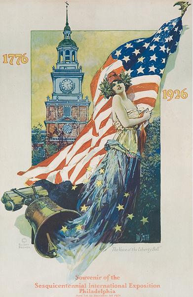 Original Philadelphia Sesquicentennial Poster