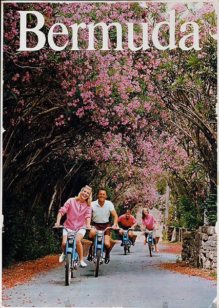 Bermuda Travel Poster Adults on Scootes