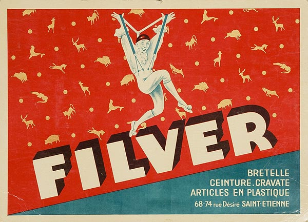 Fliver Original French Card Advertising Poster