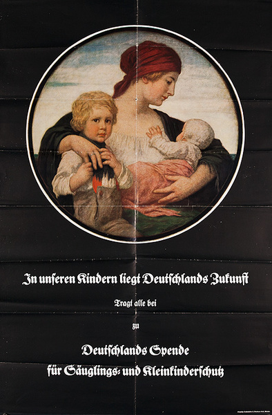 Our Children are Germany's Future Original WWI Poster
