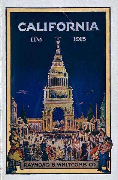 California in 1915 Original American Travel Brochure