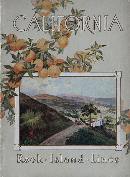 California Rock Island Line Original Travel Brochure