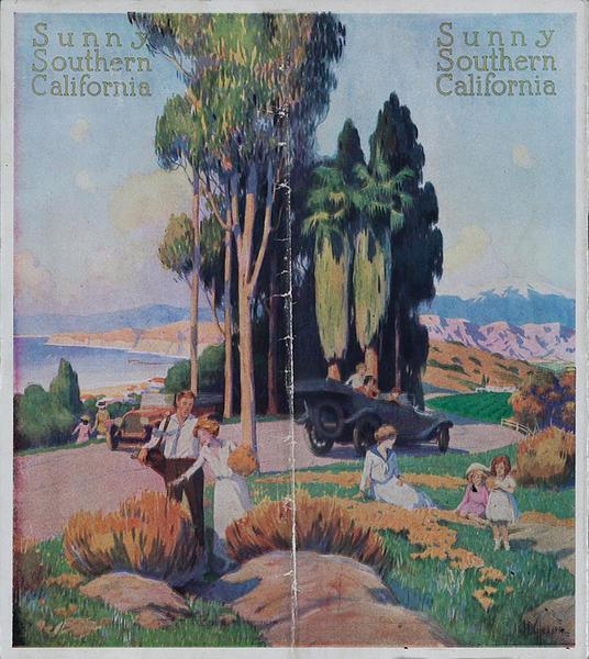 Sunny Southern California Travel Brochure