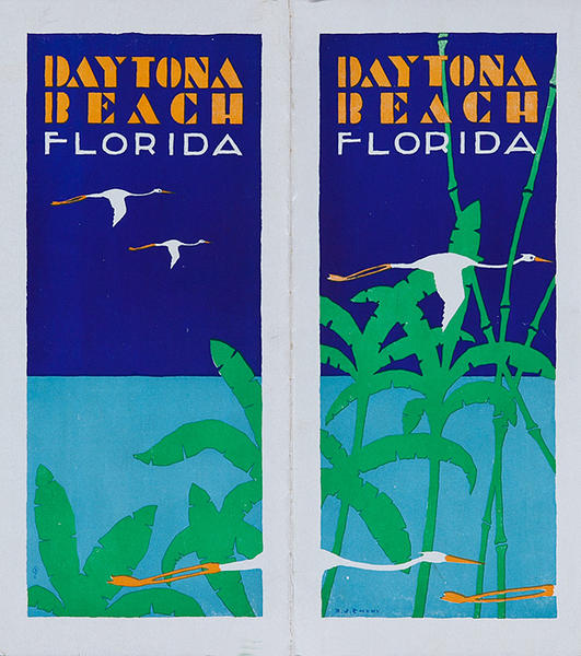 Original Daytona Beach Travel Brochure