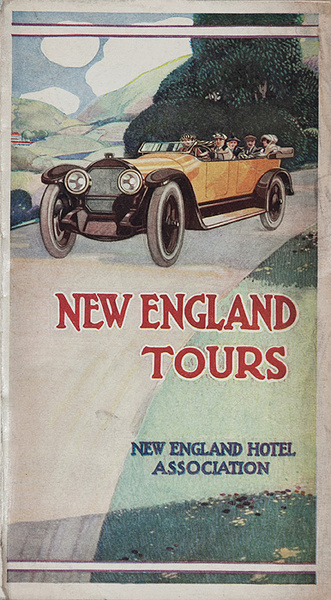Original New England Tours Travel Brochure