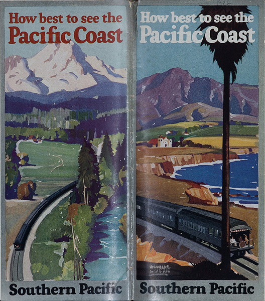 Original Southern Pacific Travel Brochure How Best to See The Pacific Coast