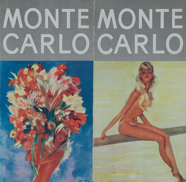 Original Monte Caro Travel Brochure