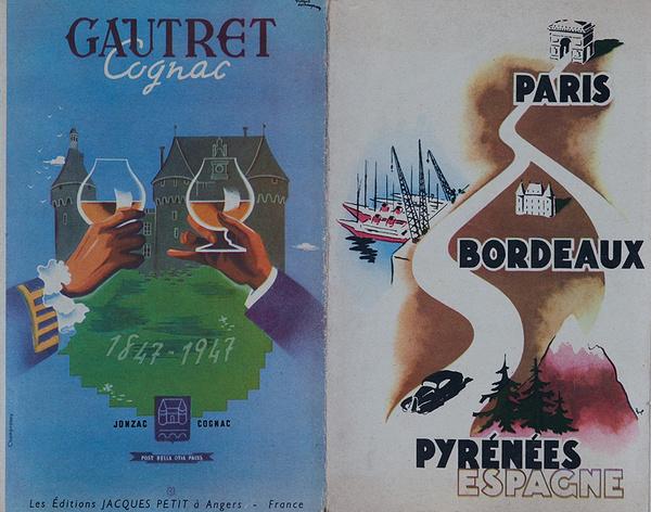 Original French Travel Brochure Paris Bordeaux Pyrenees