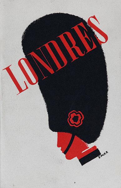 Londres London Original Travel Brochure