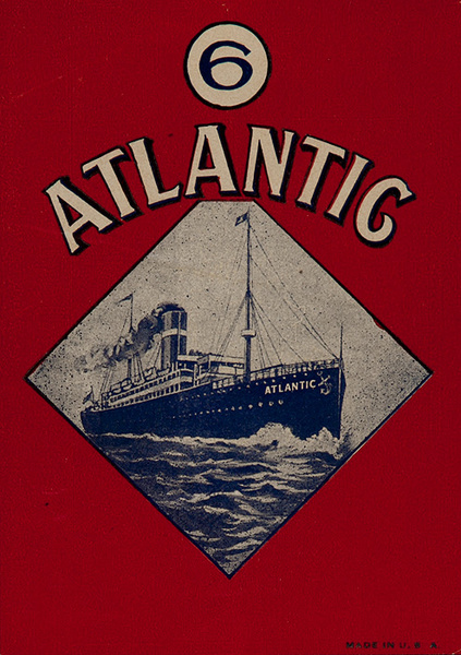 Atlantic Original Luggage Label