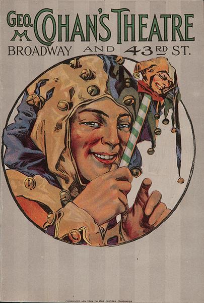 Geo. M Cohan's Theatre Original American Theatre Program