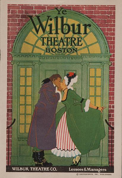 The Wilbur Theatre Boston Original American Theatre Program