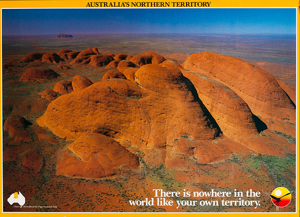 Australia Northern Territory Original Travel Poster Nowhere in the Worlld Like Your Own Territory